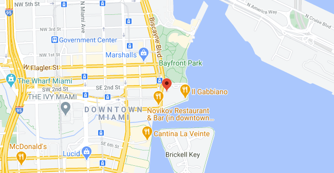 Office Location / Map: 201 S Biscayne Boulevard Suite 2800 Miami Fl 33131