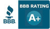 BBB A PLUS Rating Seal